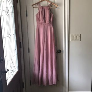 Bridesmaid Dress from Azazie. Melinda, Dusty Rose